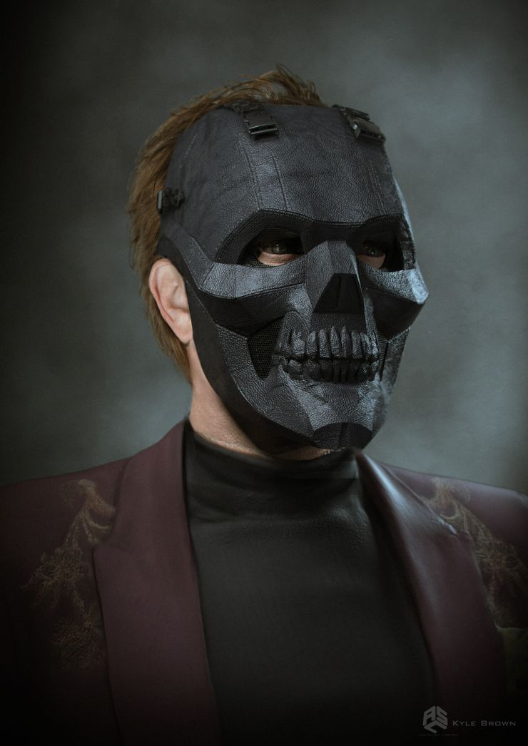 Birds Of Prey S Original Black Mask Design Revealed In Concept Art