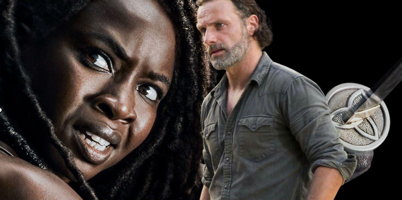 Walking Dead: Michonne's Exit Should Involve Rick | Screen Rant