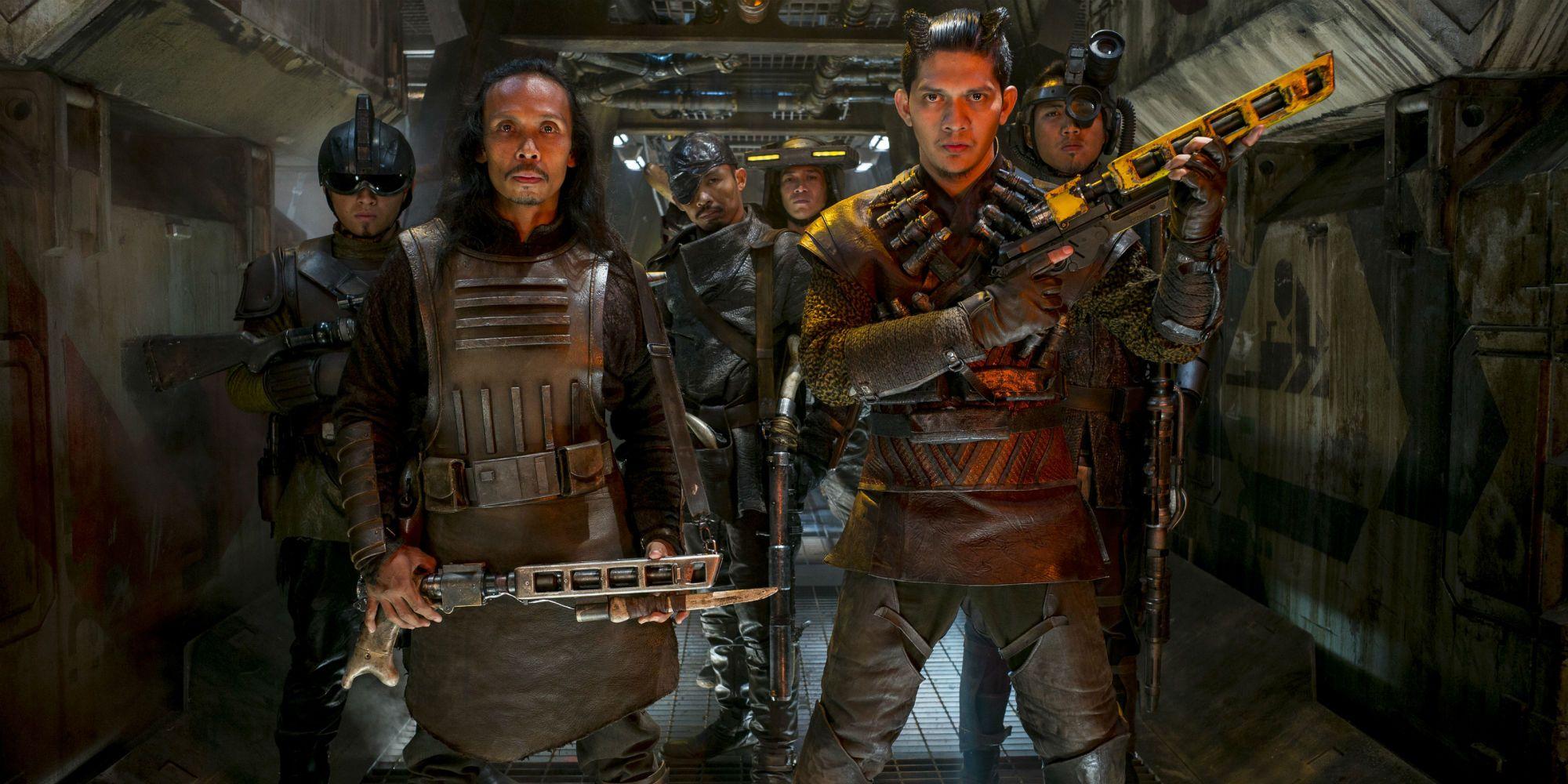 Star Wars The Force Awakens Wasted Iko Uwais Razoo Quin Fee
