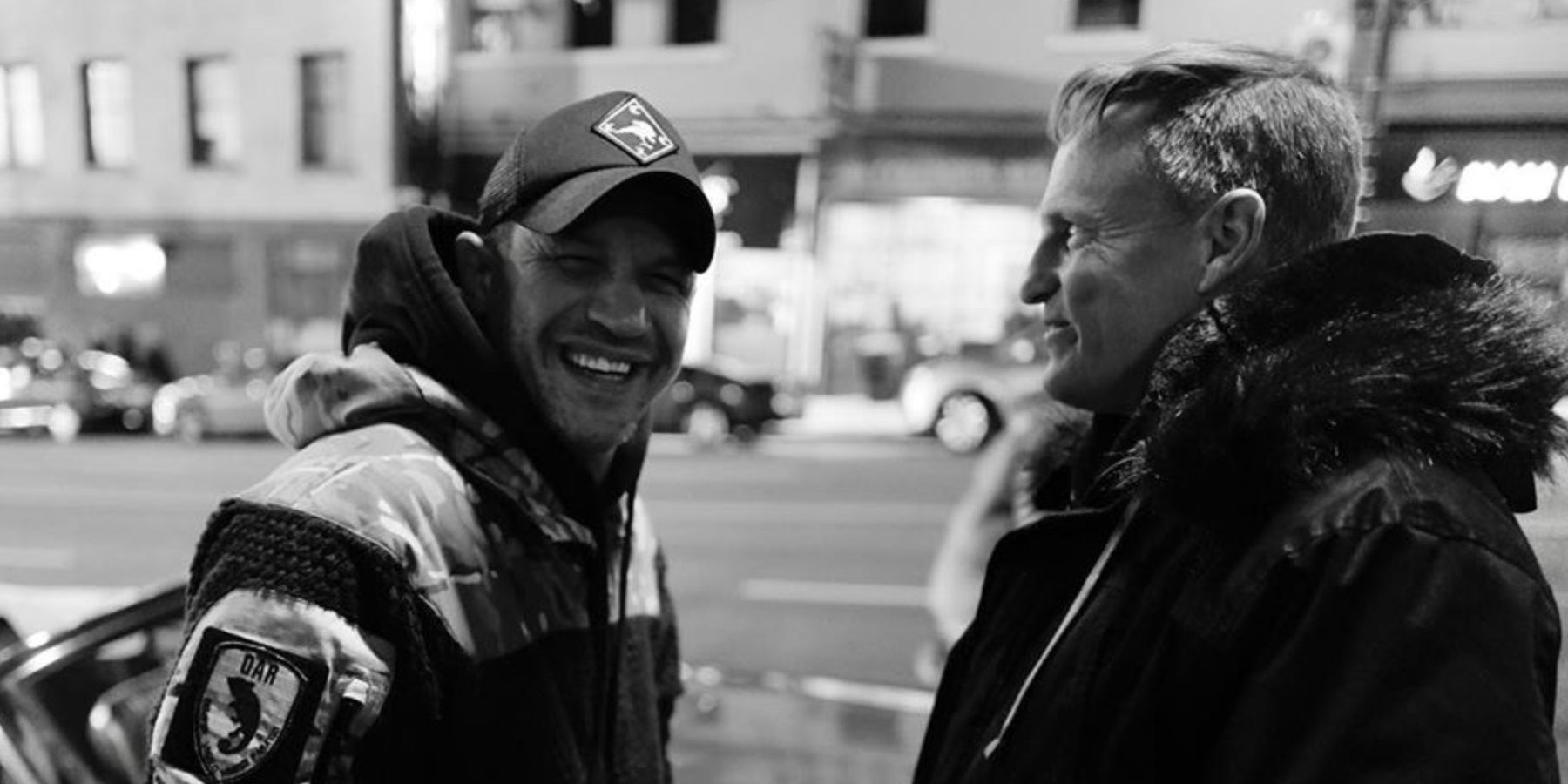 Venom 2 Set Photos Reunite Tom Hardy And Woody Harrelson