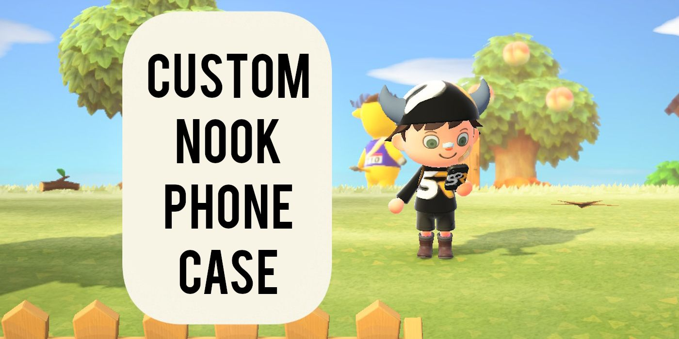 Animal Crossing New Horizons How To Customize Your Nook Phone Case