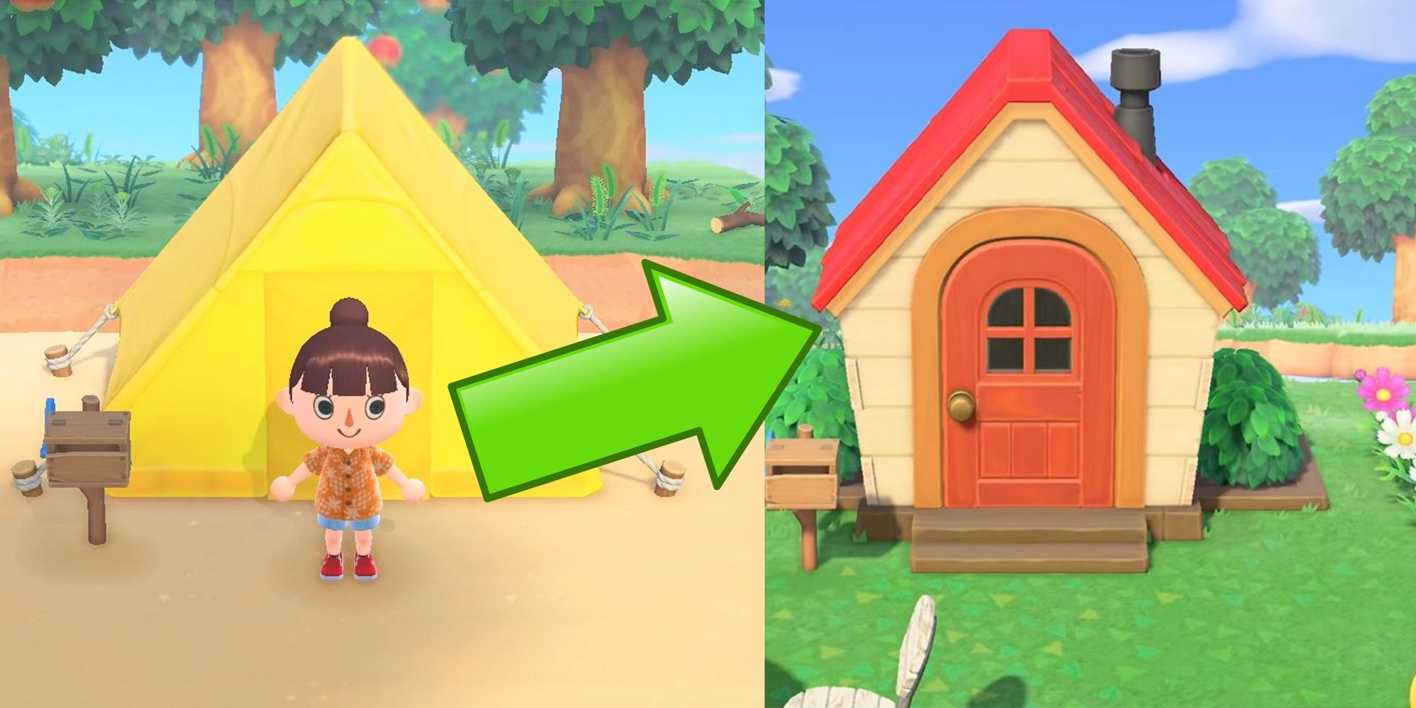Animal Crossing New Horizons House Upgrades Guide Screen Rant