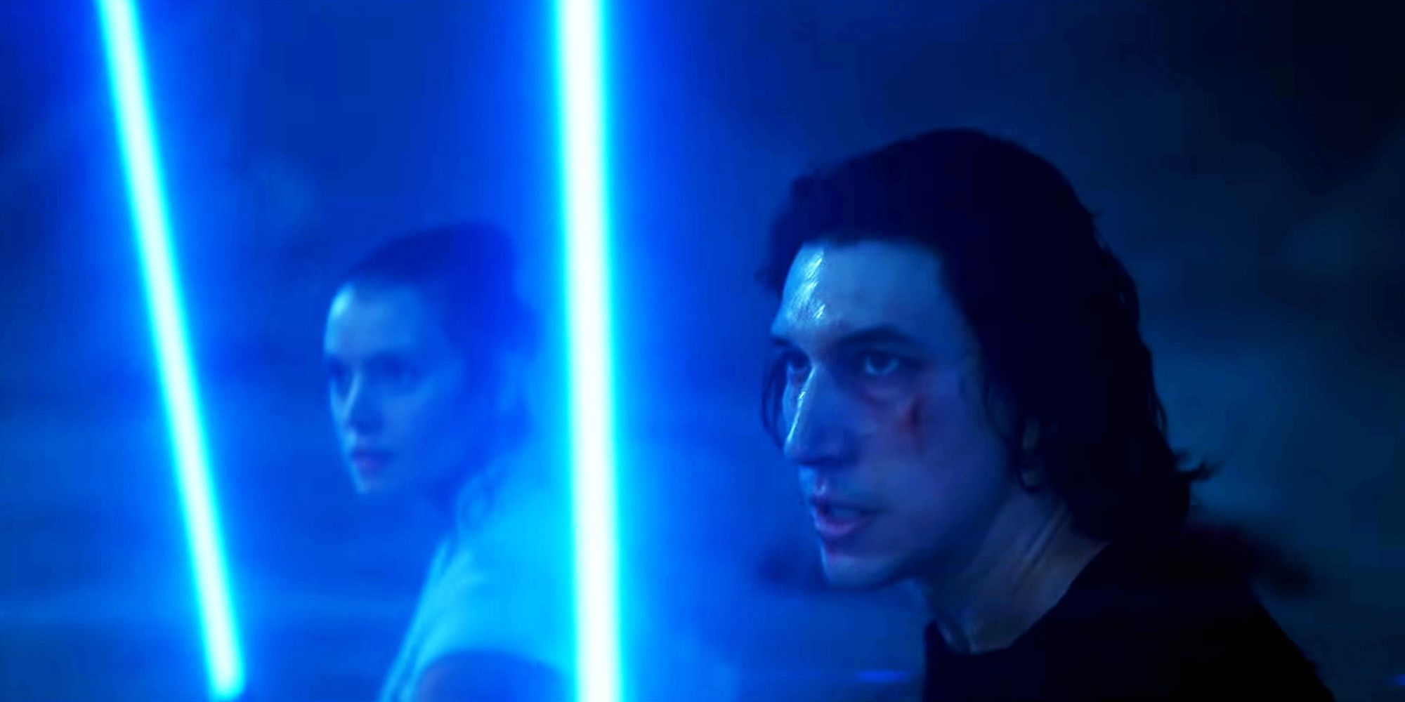 Watch Rey Kylo Ren Fight Palpatine In Rise Of Skywalker Hd Video