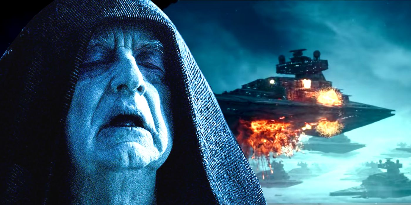 Star Wars Hints Palpatine S Rise Of Skywalker Fleet Would Always Fail
