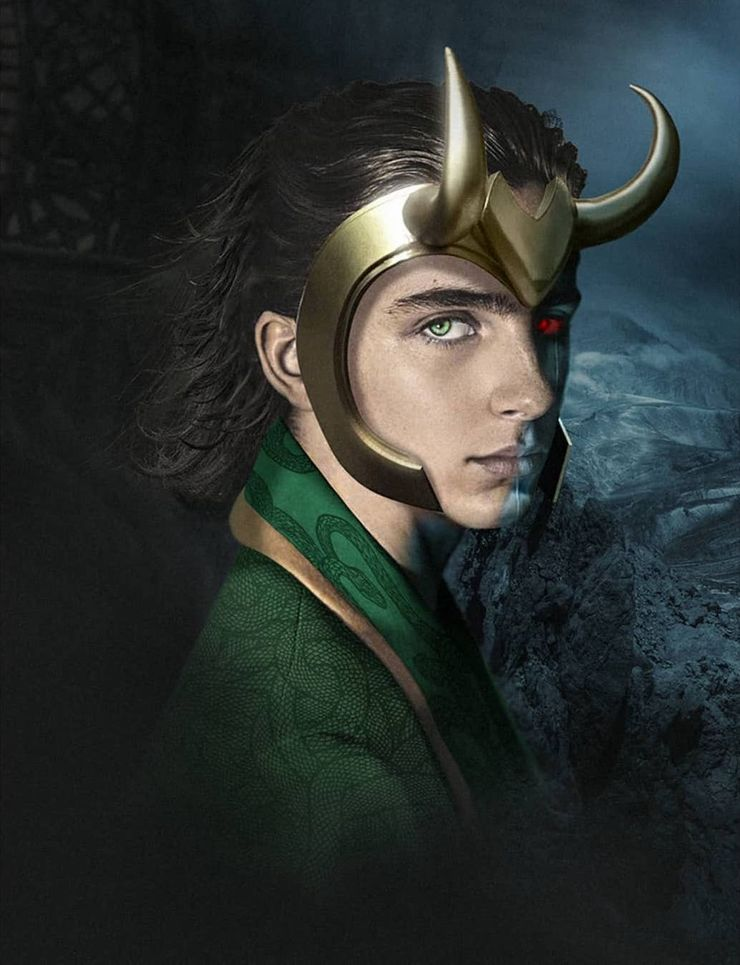 What Timothée Chalamet Could Look Like As MCU's Young Loki
