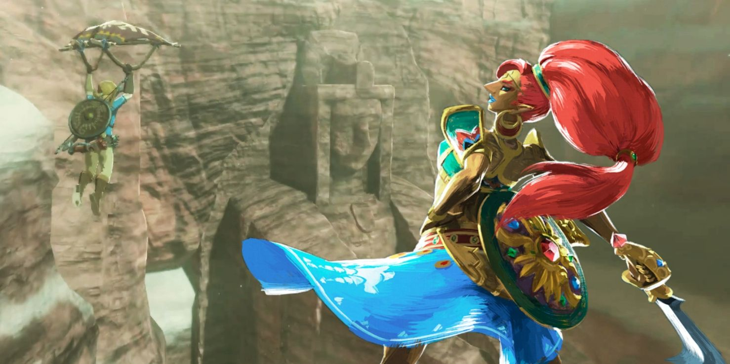 Breath Of The Wild Eighth Heroine Theory Zelda S Gerudo Statue Explained Must have bought the gerudo how to get sand & snow boots ! breath of the wild eighth heroine