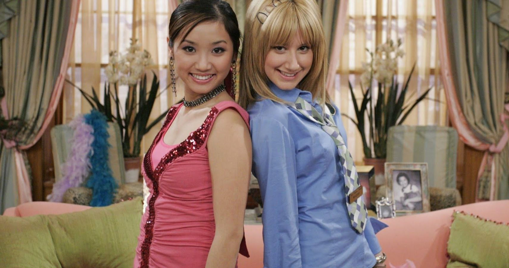 In The Suite Life of Zack and Cody, when London was told that she is not that thin therfore she should starving herself and Maddie was told she is so thin.