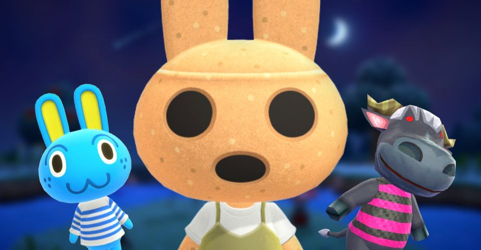 Animal Crossing New Horizons Scariest Villagers Screen Rant