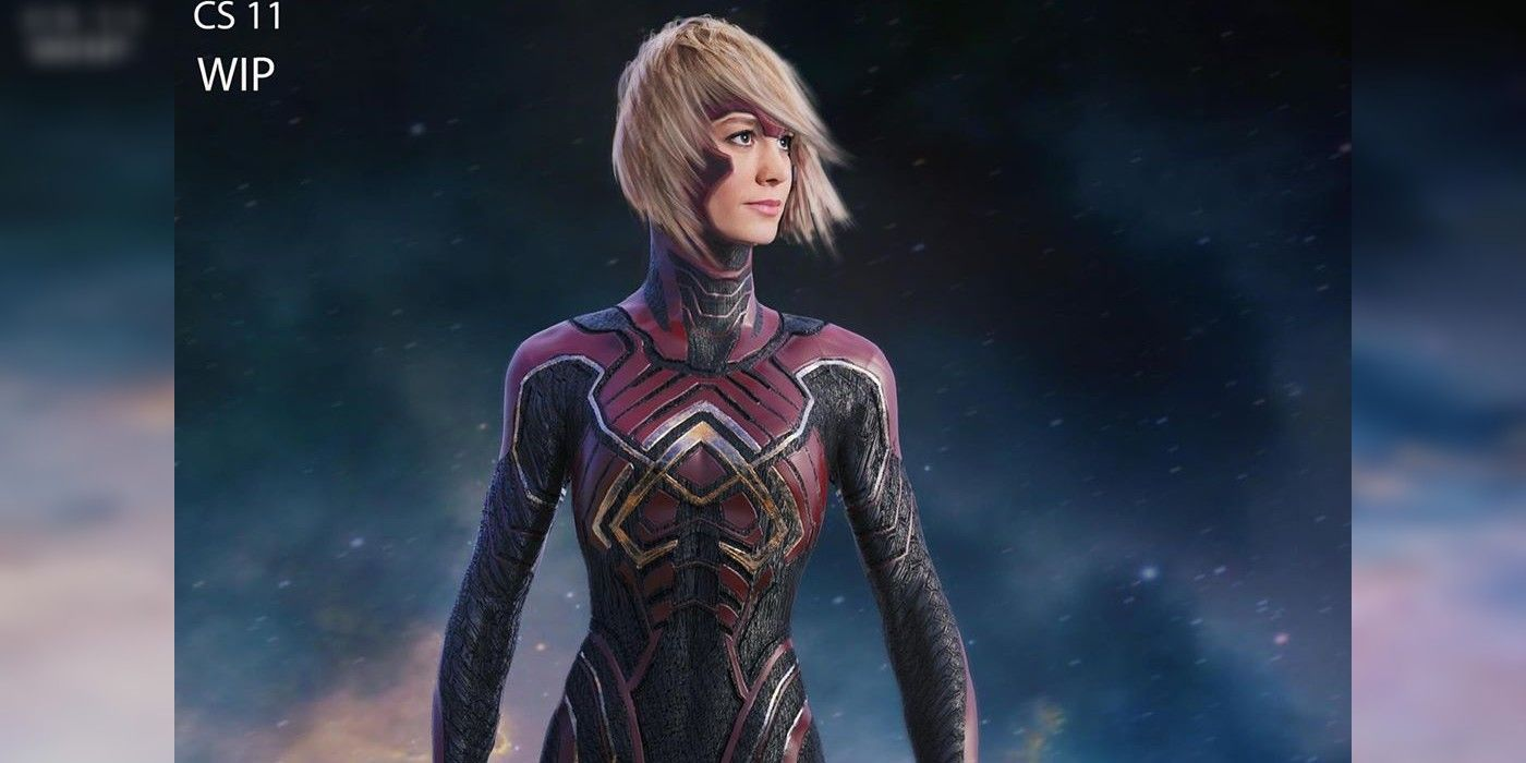 Captain Marvel Alternate Starforce Costume Design Is Radically Different The concept art that was released this week was created by comic book artist andy park. captain marvel alternate starforce