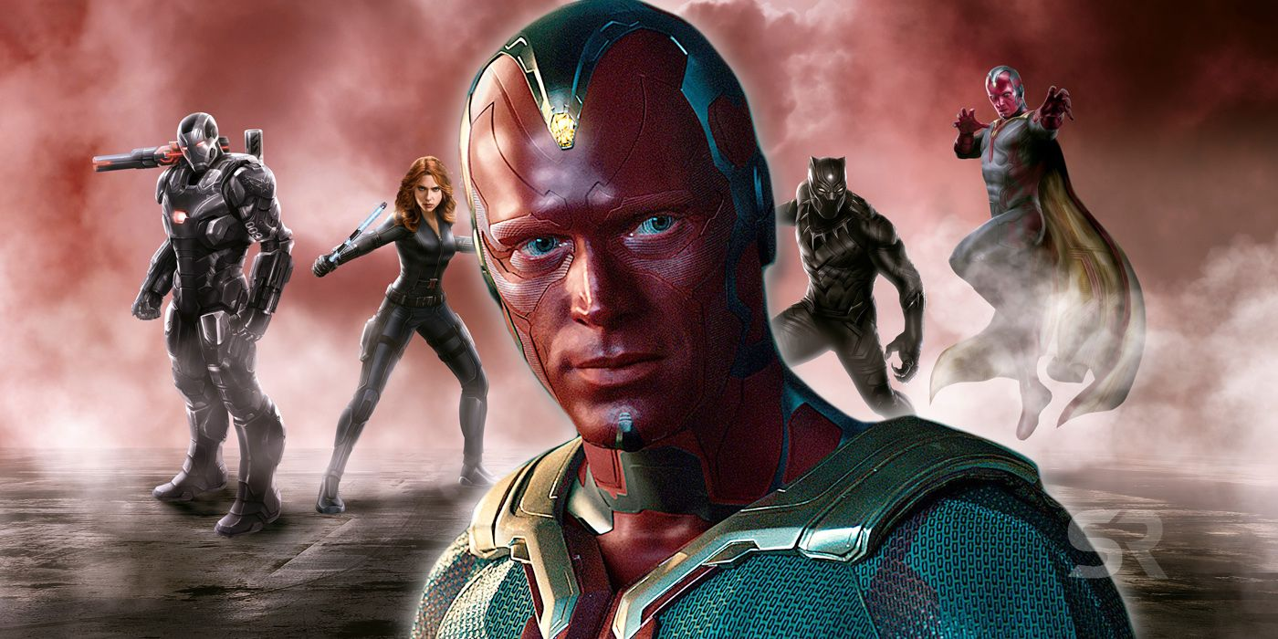 Captain America: Why Vision Really Chose Iron Man's Team In Civil War