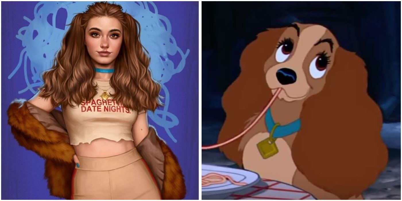 Disney Animal Characters Re-Imagined As Millennials In Fan Art