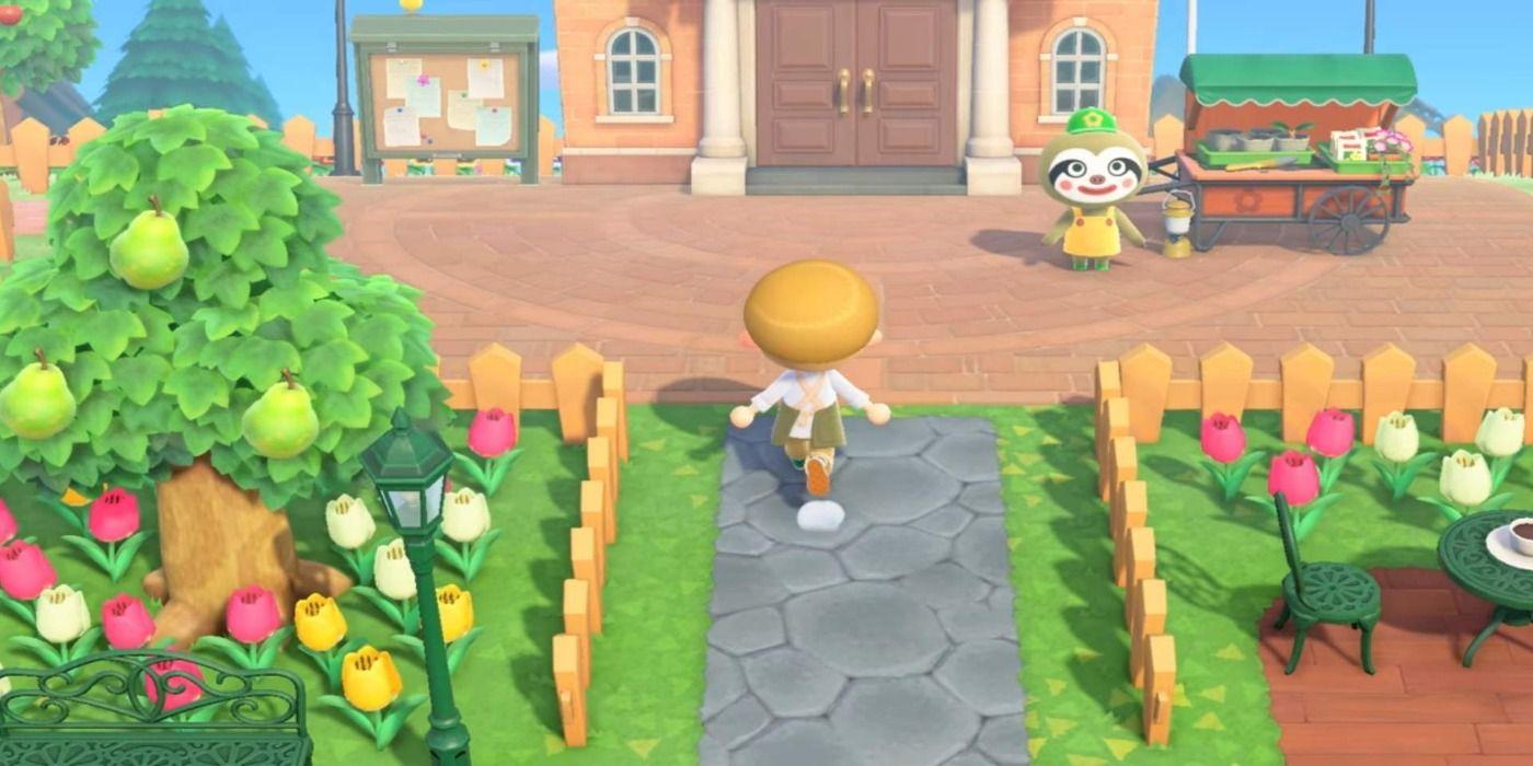 Animal Crossing: New Horizons - Island Entrance Design ...