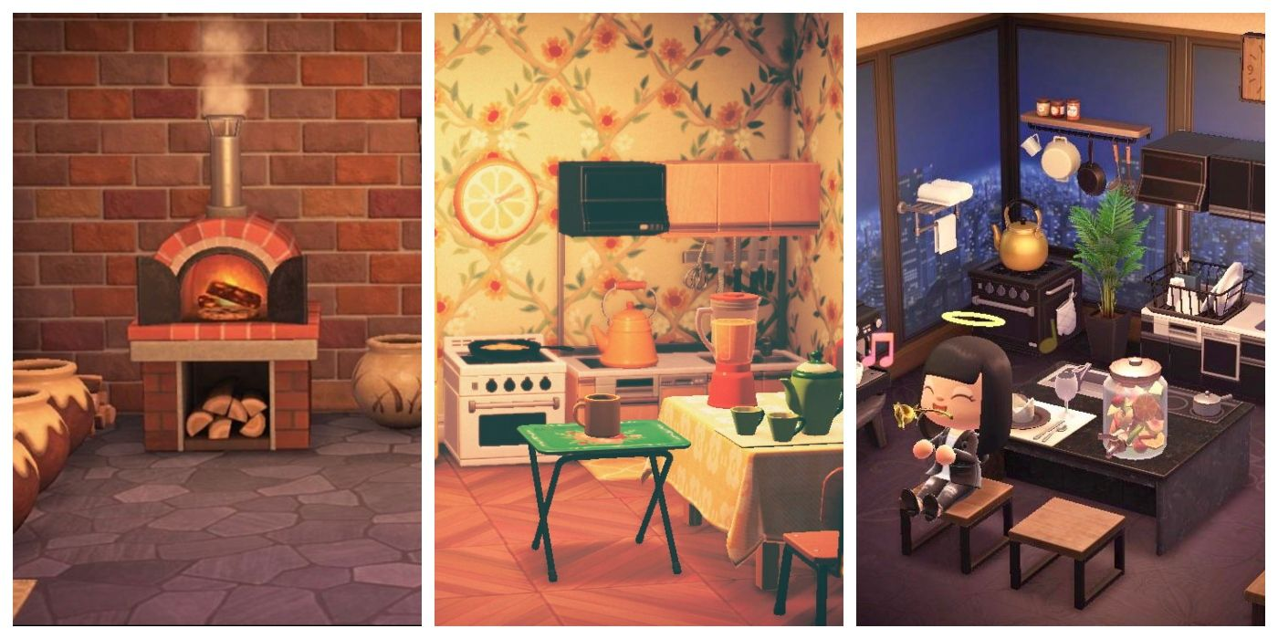 Animal Crossing: New Horizons Best Kitchen Design Ideas