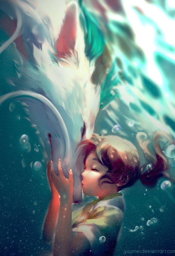 Spirited Away 10 Stunning Pieces Of Fan Art Screenrant