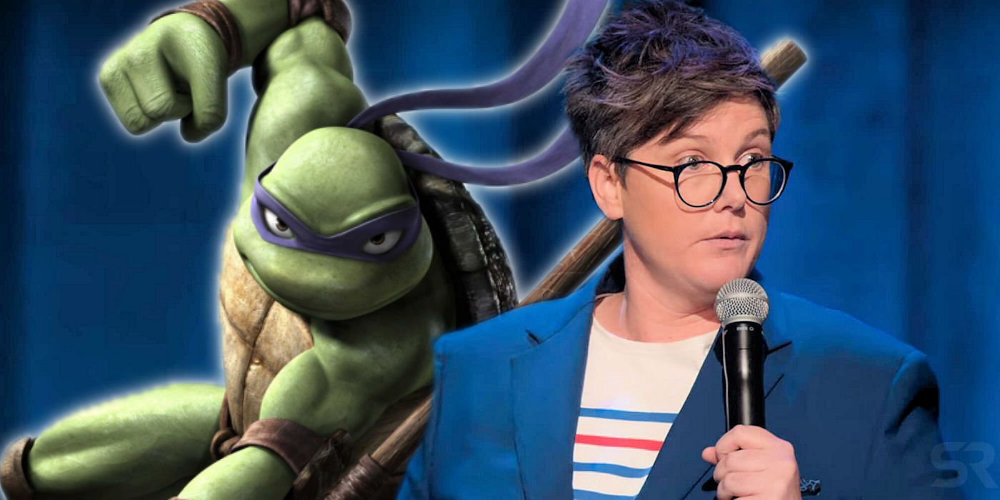 Why Donatello Shouldn T Be A Ninja Turtle According To Hannah Gadsby