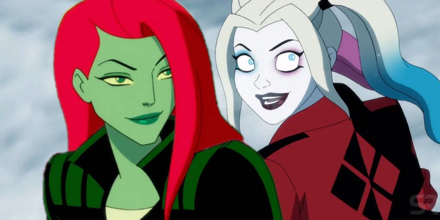 Harley Quinn Posion Ivy Finally Kiss On Dc Universe Because Of Bane