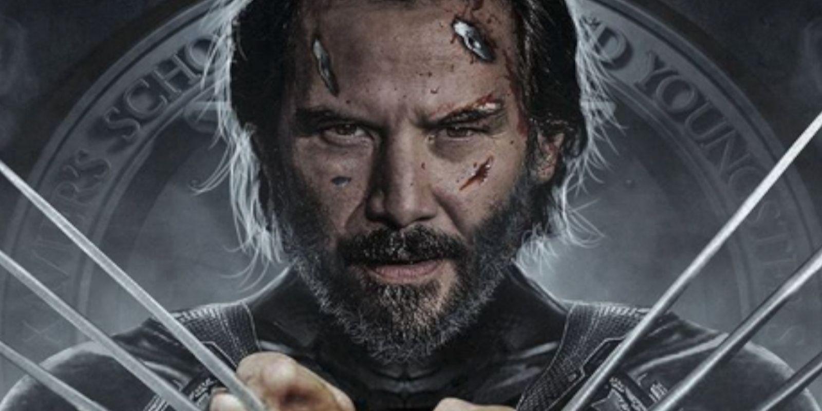 What Keanu Reeves As MCU's Wolverine Might Look Like