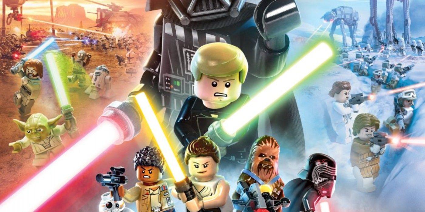 Lego Star Wars The Skywalker Saga Key Art Officially Unveiled