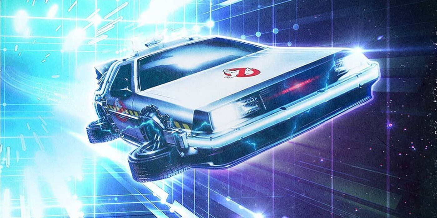 Ready Player Two Fan Poster Features Awesome Ghostbusters Delorean