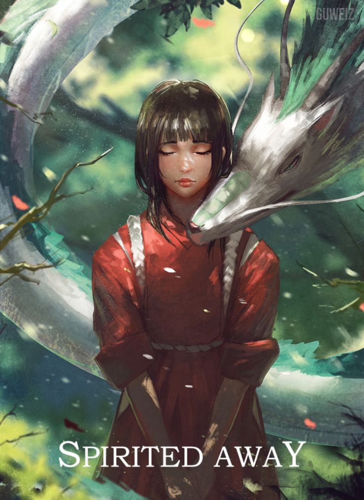 Spirited Away 10 Stunning Pieces Of Fan Art Screenrant