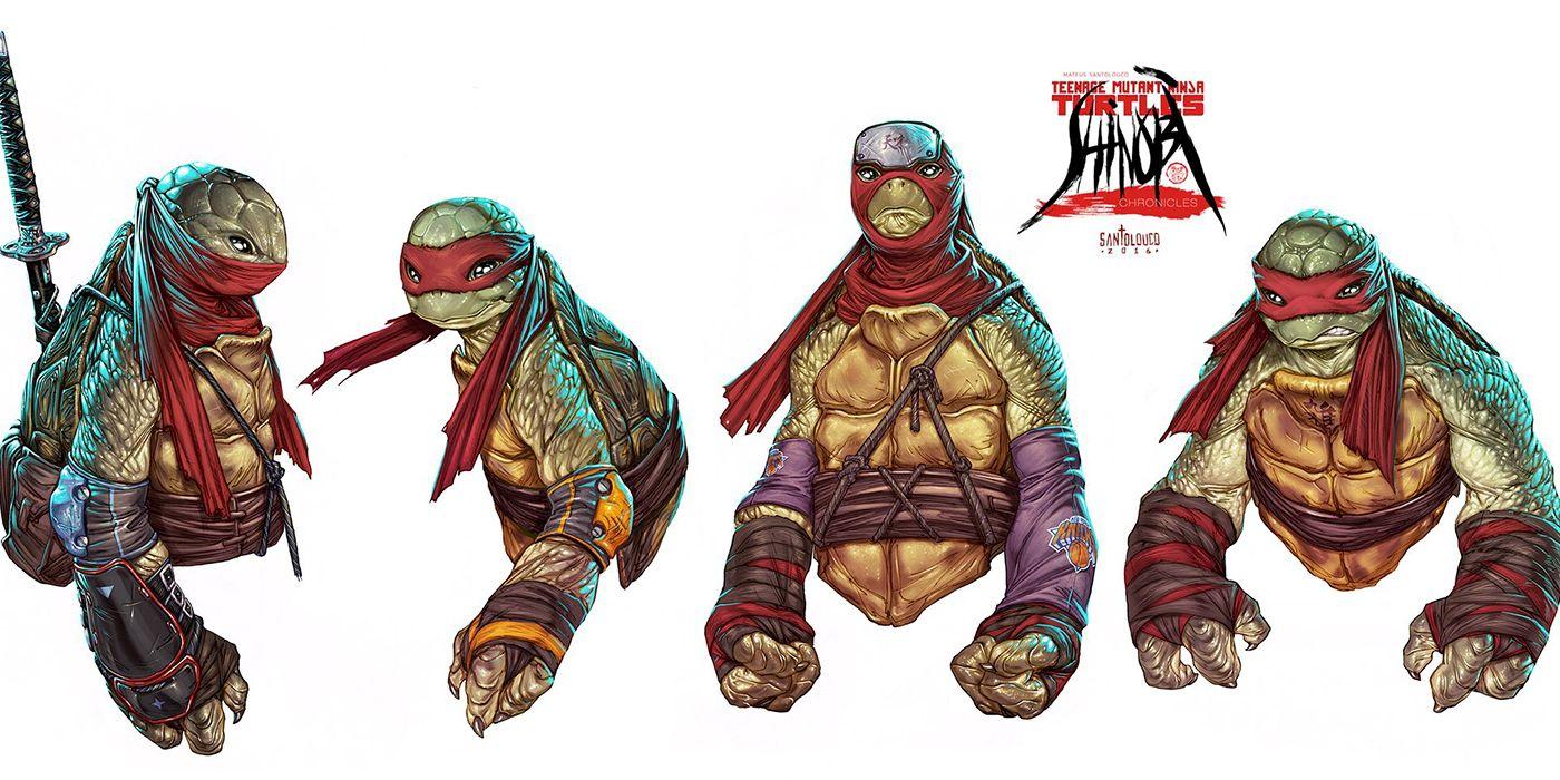 Teenage Mutant Ninja Turtles Concept Art Is What Bay's Movie Should've Been