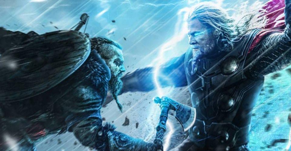 Thor Fights Assassins Creed Valhalla S Eivor In New Fan Art