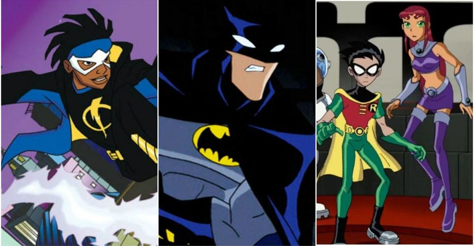 The 10 Best Superhero Cartoons Of The 2000s Ranked According To Imdb