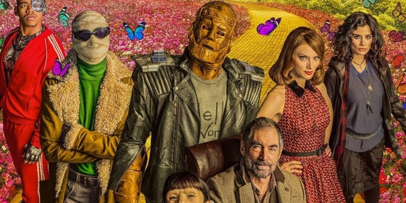 Doom Patrol Season 2 Cast Dc Comics Character Comparison Guide