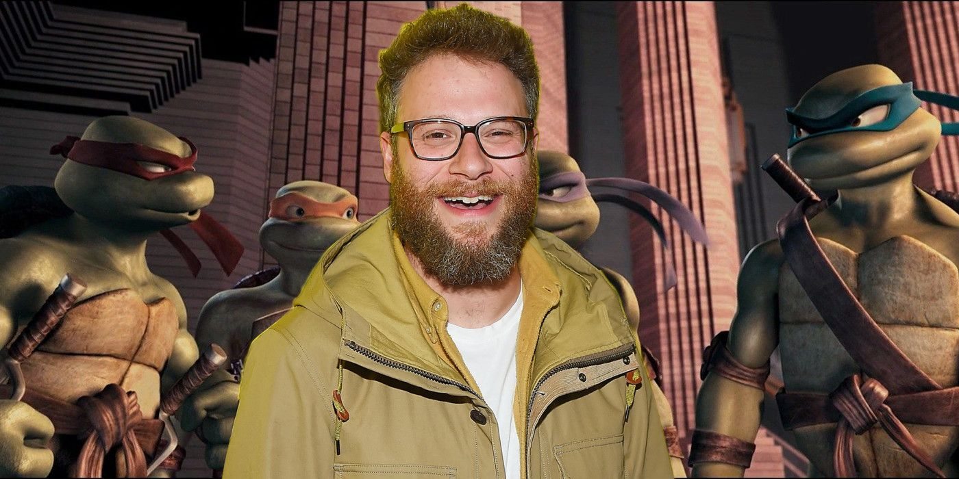 Seth Rogen Doing TMNT CG Animated Movie.'