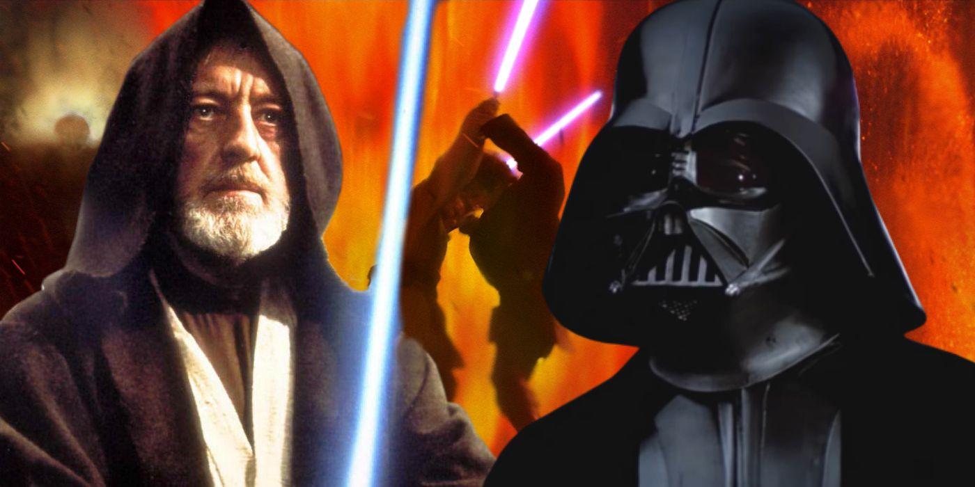 Star Wars: How Old Obi-Wan & Darth Vader Are In BOTH Lightsaber Duels