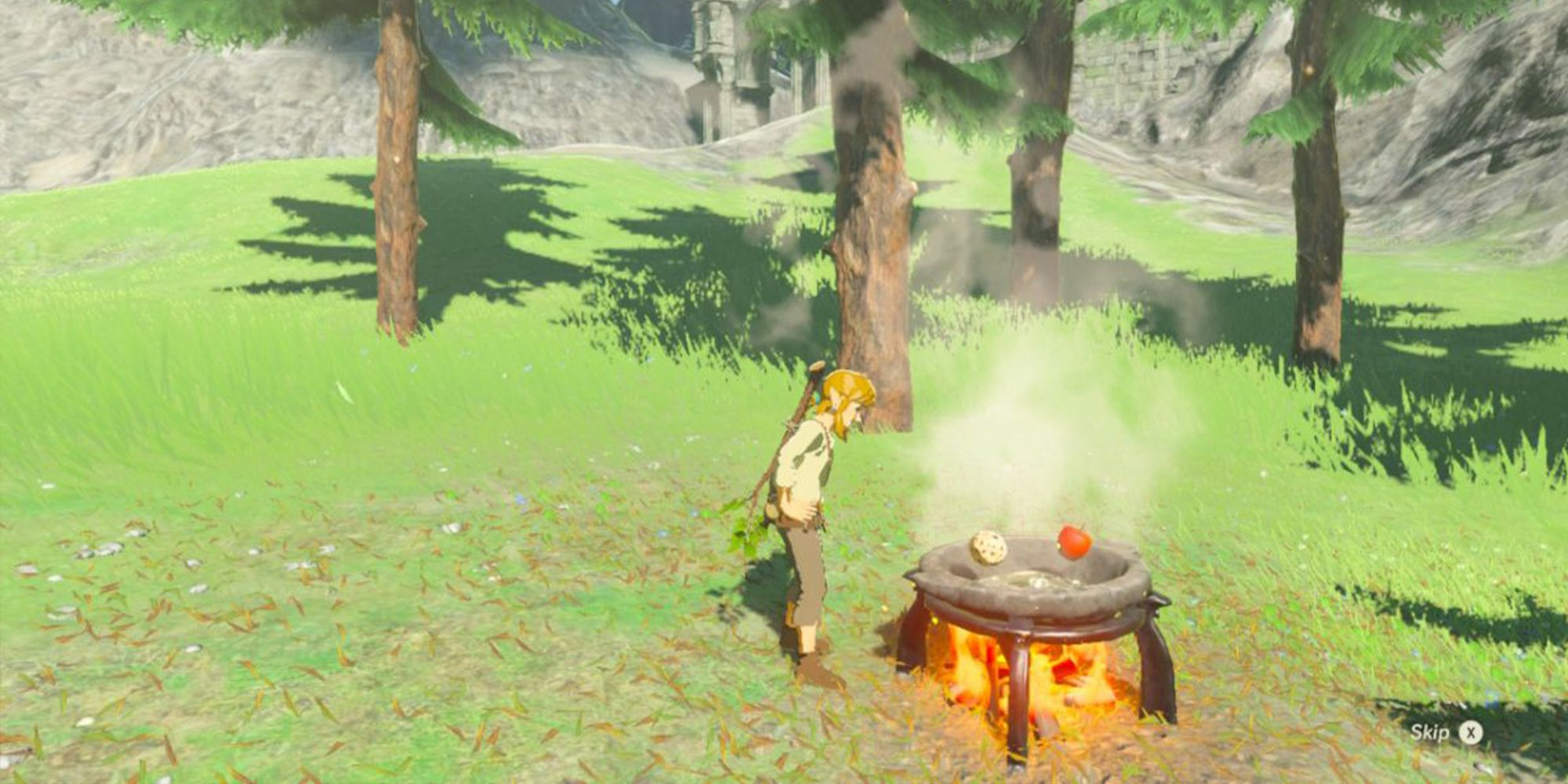 The Legend Of Zelda Breath Of The Wild Cooking Recipes