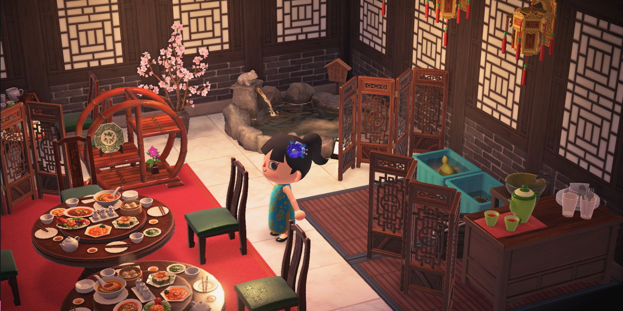 Asian Inspired Design Ideas Tips In Animal Crossing New Horizons