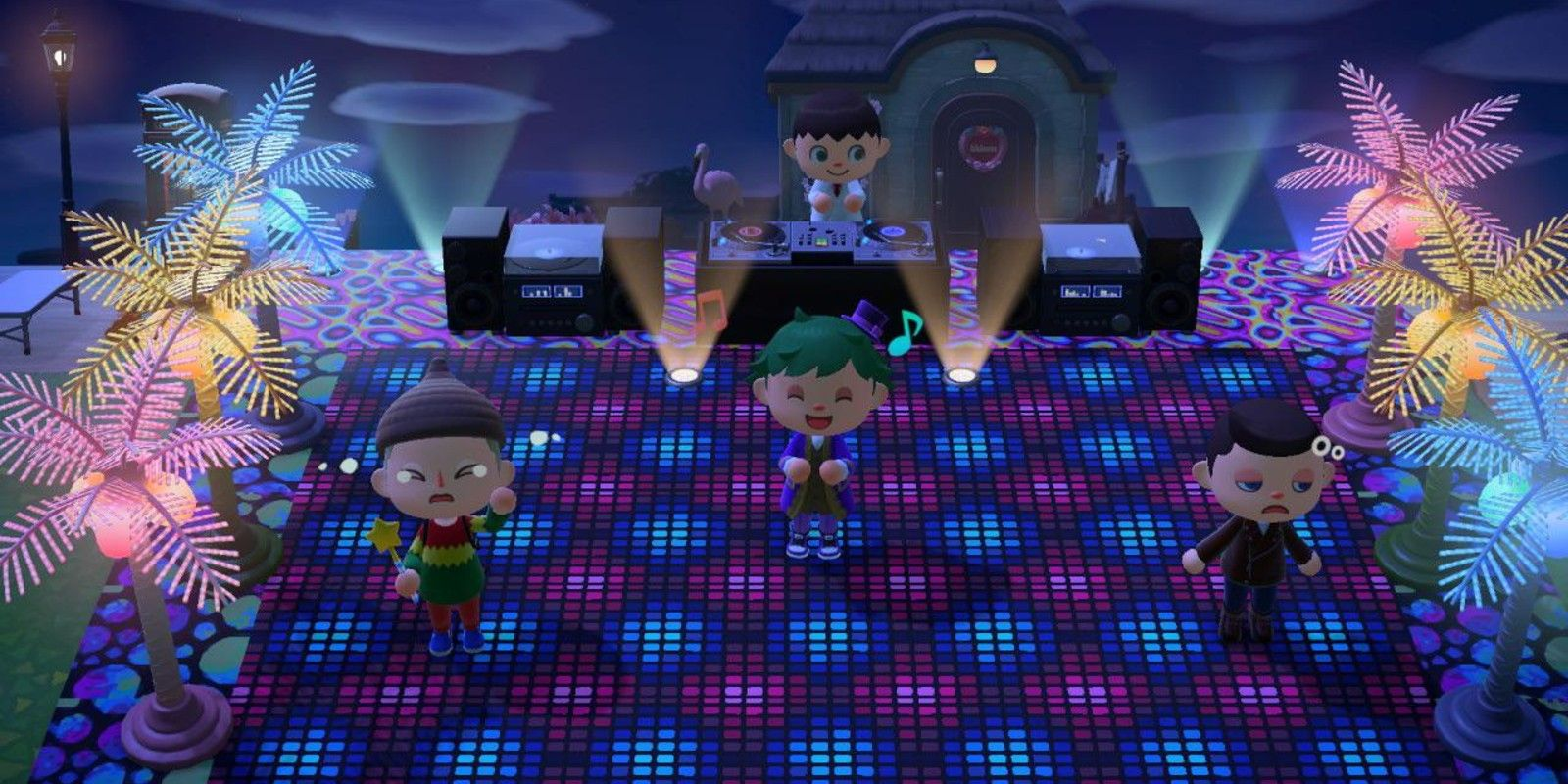 Dance Club Inspired Design Ideas & Tips in Animal Crossing New ...