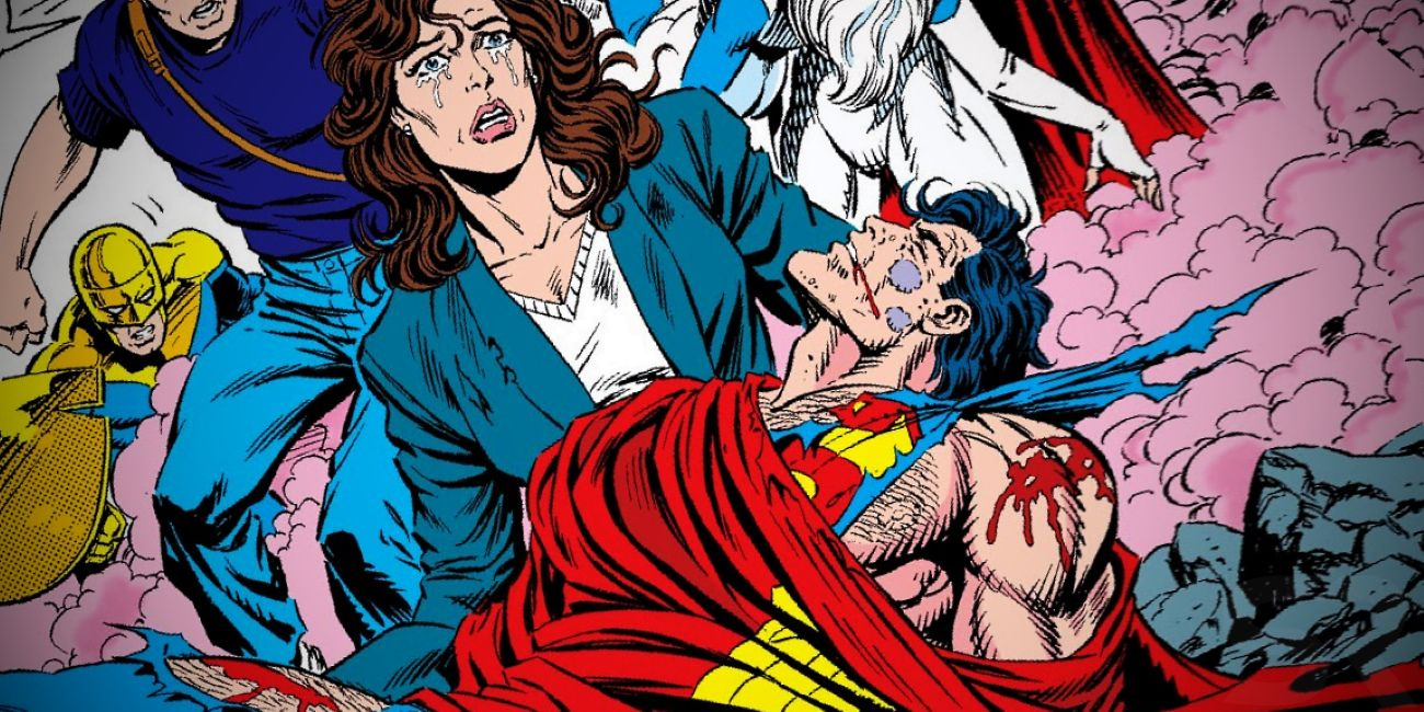 The Death of Superman's Saddest Moment is One Nobody Saw