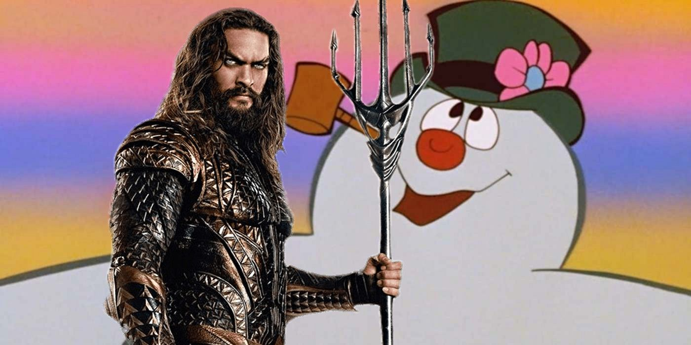 Aquaman Goes Cold: Jason Momoa Cast As Frosty The Snowman In New Movie