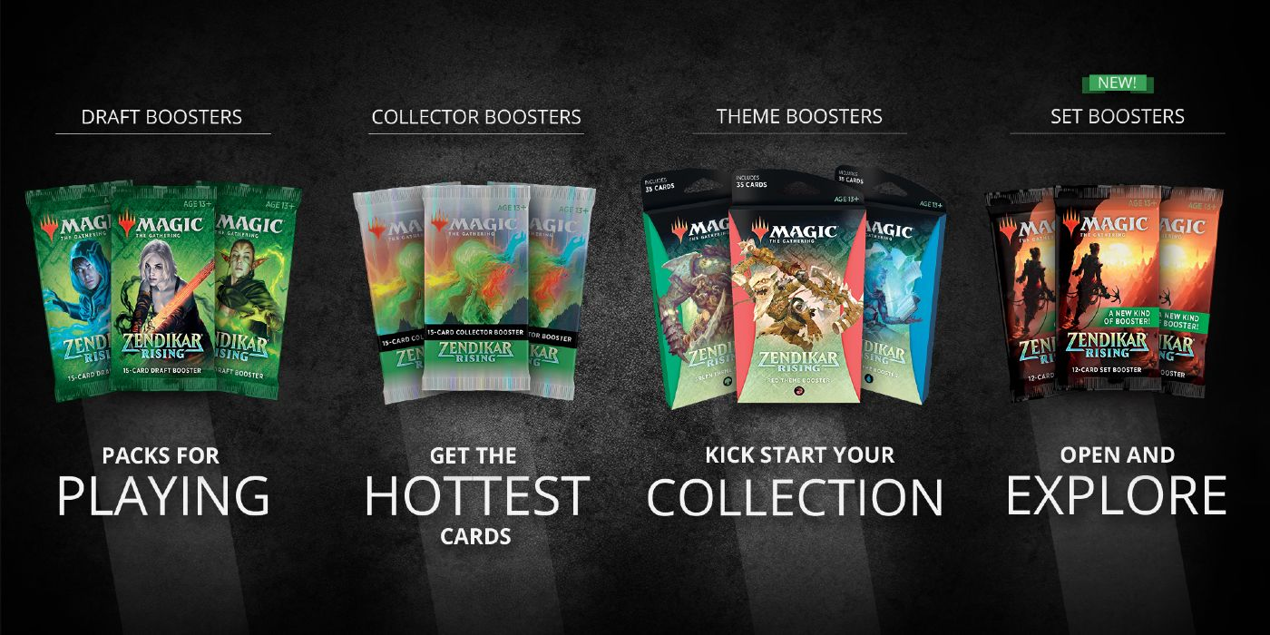 Magic: The Gathering Announces New Type Of Booster Pack For ...