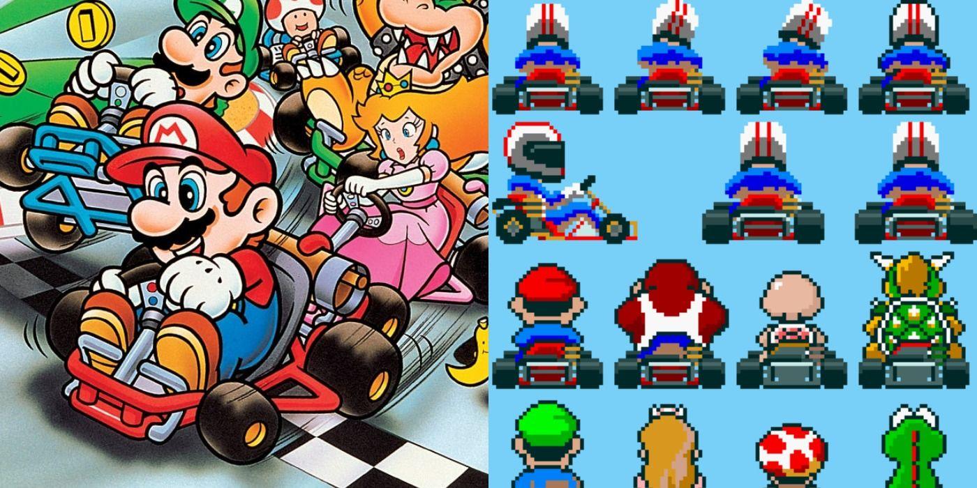 Super Mario Kart Gigaleak Has Revealed An Unused Character