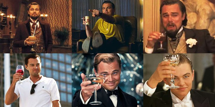 Why There Are So Many Leonardo Dicaprio Drinking In Movies Memes