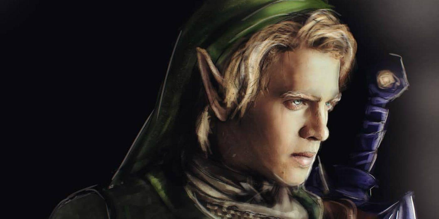 The Legend Of Zelda Fan Art Envisions Hayden Christensen As A Live Action Link