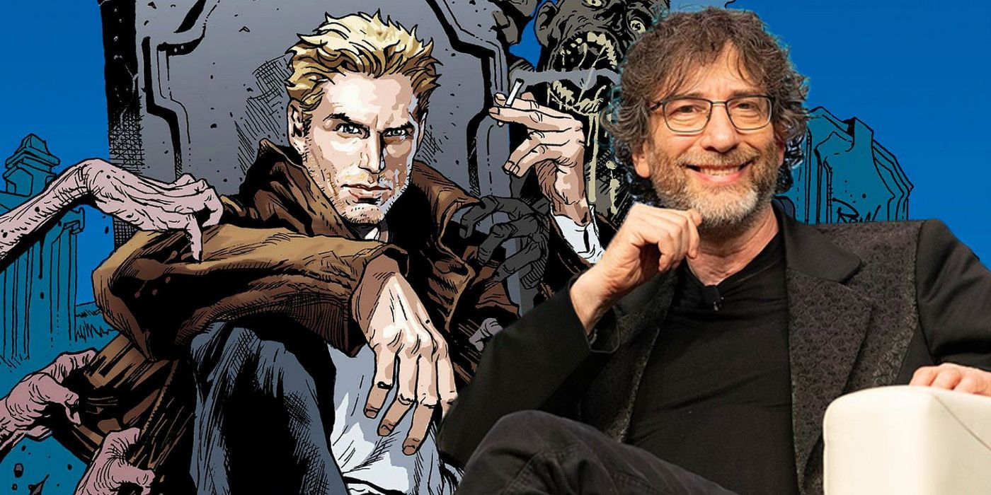 Neil Gaiman Teases Possible Constantine Appearance On Sandman Show