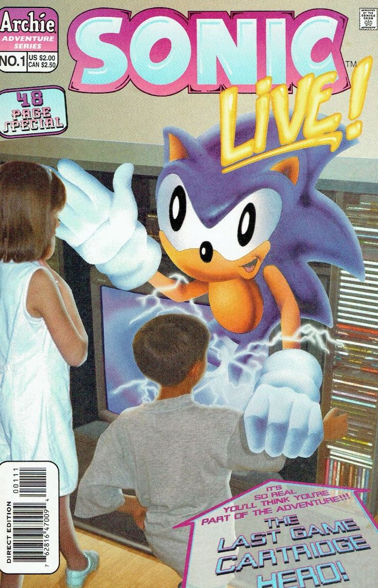Sonic The Hedgehog The Most Inappropriate Comic Moments Ever