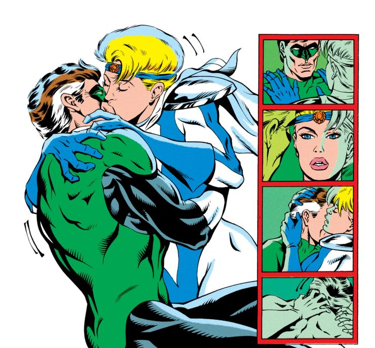 Commente l'Avatar - Page 39 Green-Lantern-and-Power-Girl-Kiss