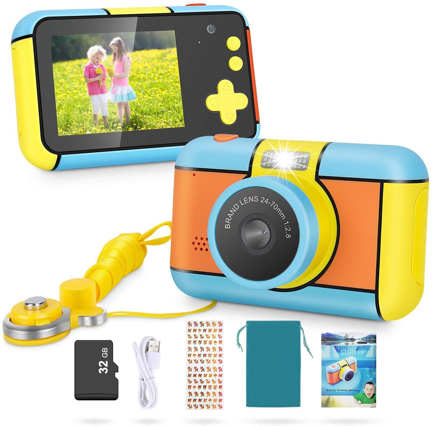 Magicfun Instant Print Camera for Kids Zero Ink Camera with Paper ...