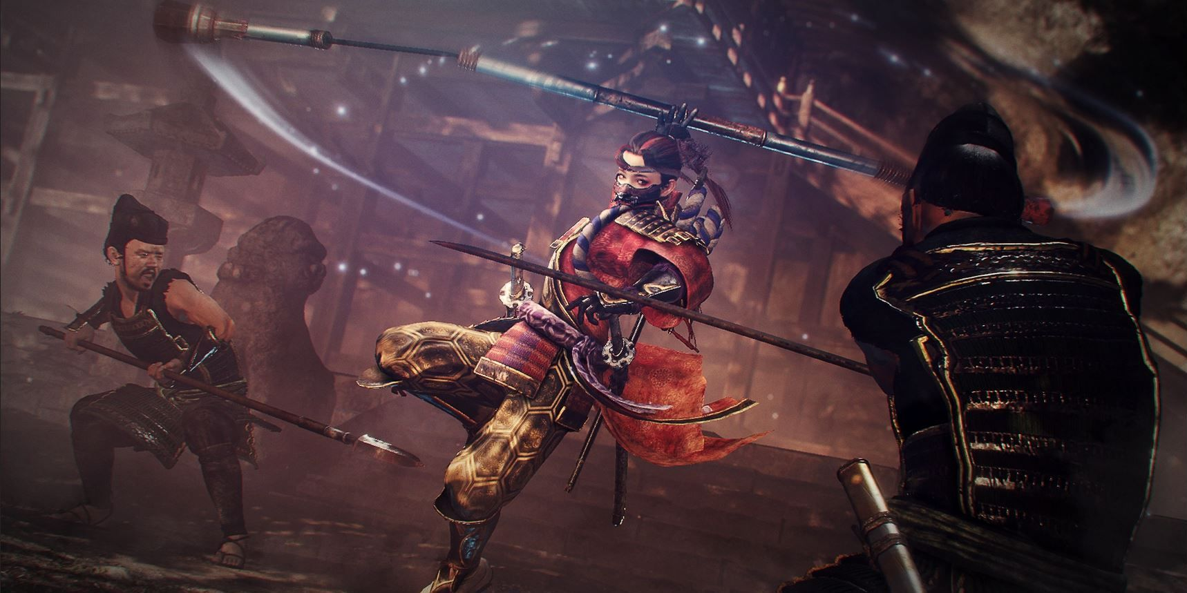 Nioh 2 Darkness In The Capital DLC Releases In October