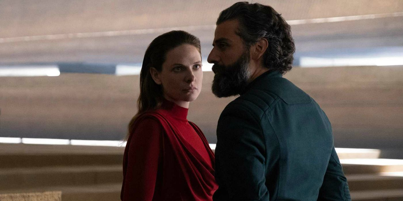 Dune: Oscar Isaac & Rebecca Ferguson Face Off In New Images