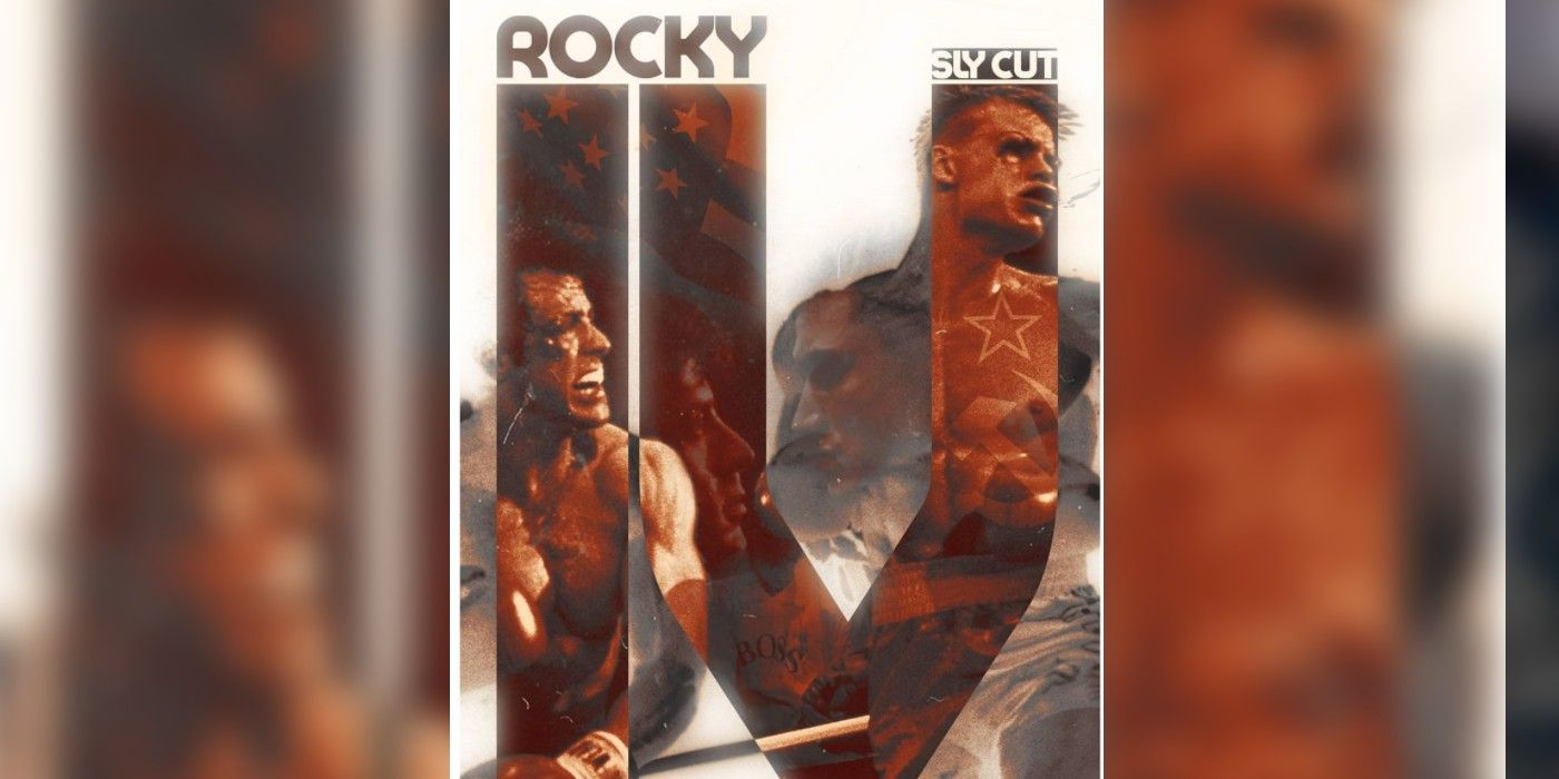 Rocky 4 Director's Cut Fan Poster Highlights Balboa's Fight With Ivan Drago  - Mimicnews