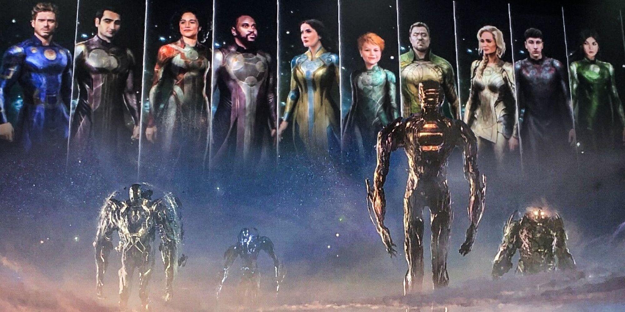 Marvel Eternals Teams Background