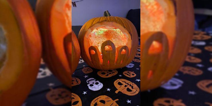 Best Among Us Pumpkin Carving Design Ideas For Halloween