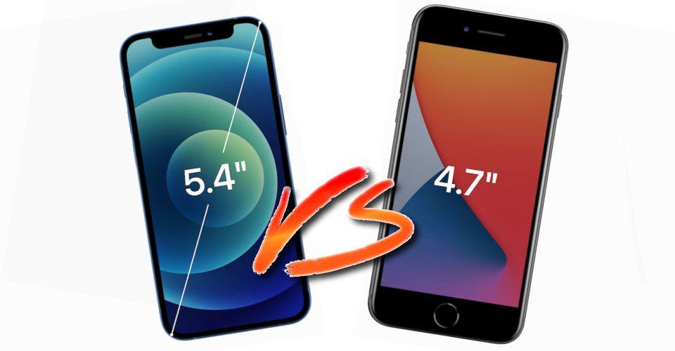 Iphone 12 Mini Vs Iphone Se Best Smaller Apple Phone In 2020