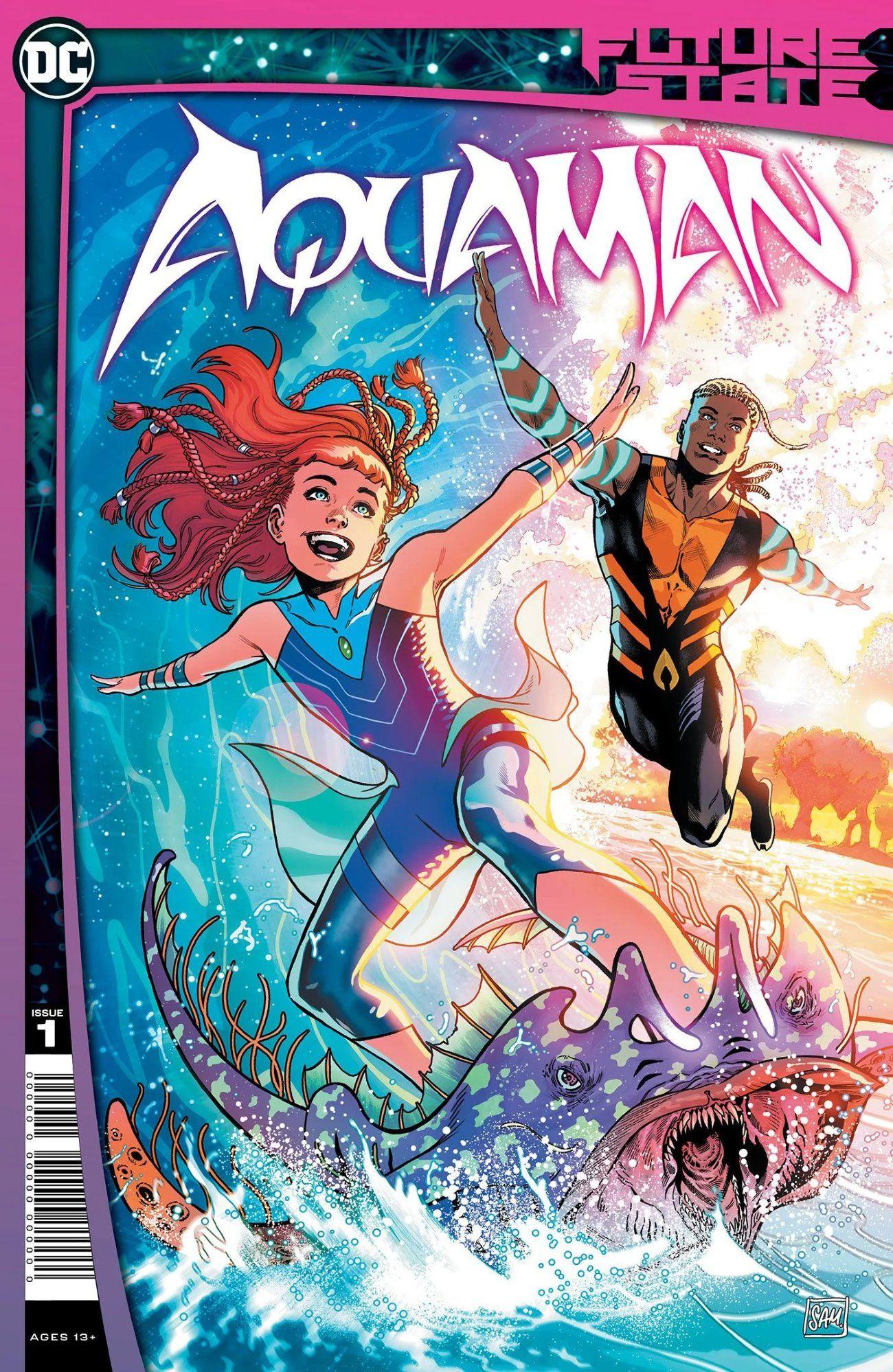 Aqualad do Young Justice se torna o novo Aquaman no futuro de DC 1